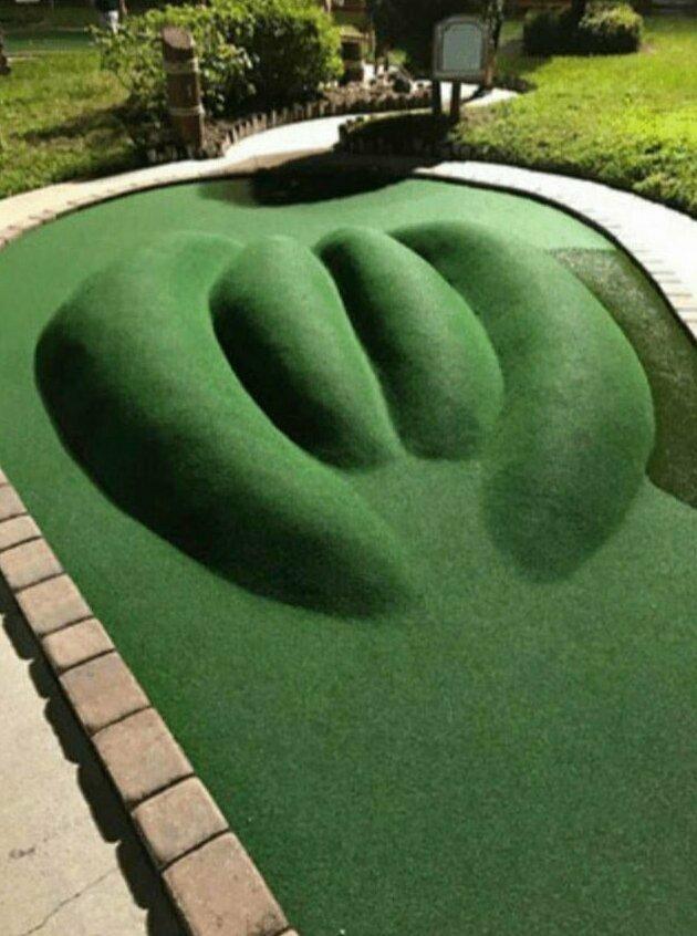 3. Поле для мини-гольфа