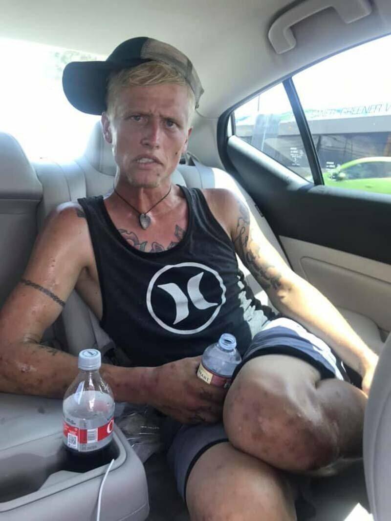 За семь месяцев наркотики из 26-летнего парня сделали мумию