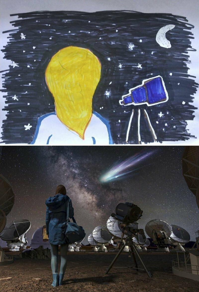 3. Виола. 10 лет, Украина: астроном