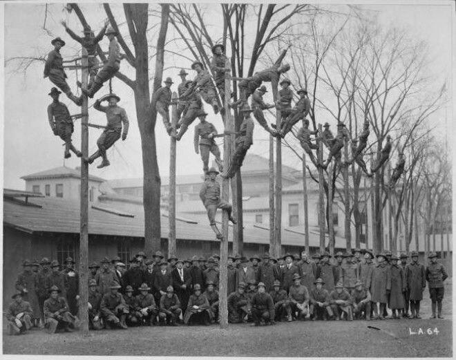 9. Электрики, групповое фото, 1918 год