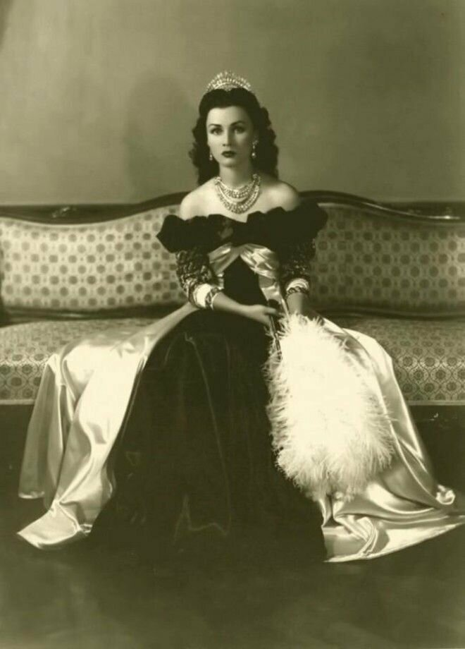 18. Фавзия Фуад, королева Ирана и Египта, 1939год