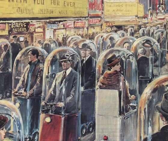 Иллюстрация итальянского художника Вальтера Молино (Walter Molino)