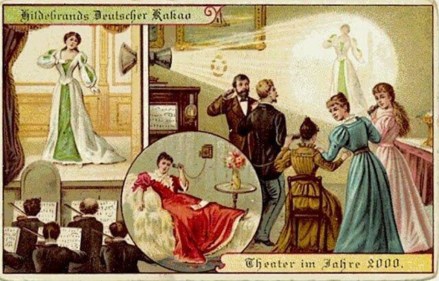 Как художники начала века видели мир будущего