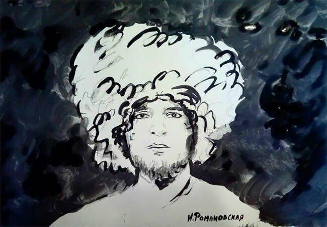 Хабиб. Портрет был выставлен на продажу за 1,5 миллиона рублей