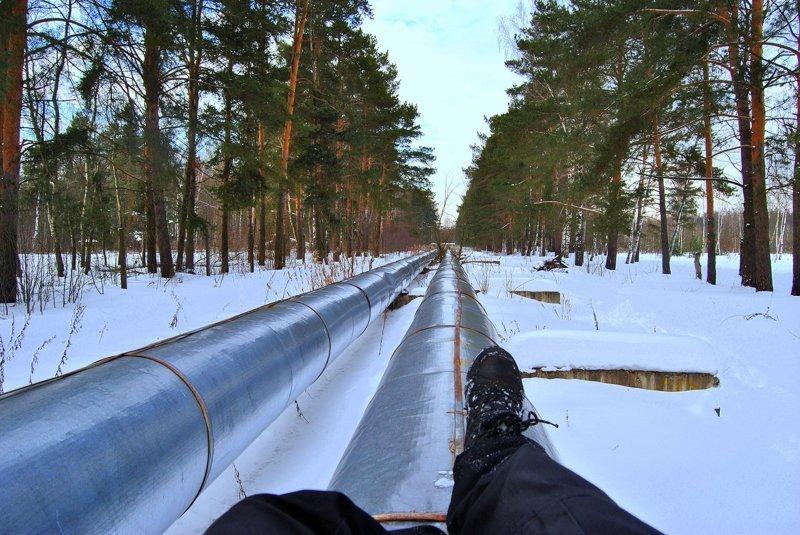 Тепломагистраль - спасение зимой