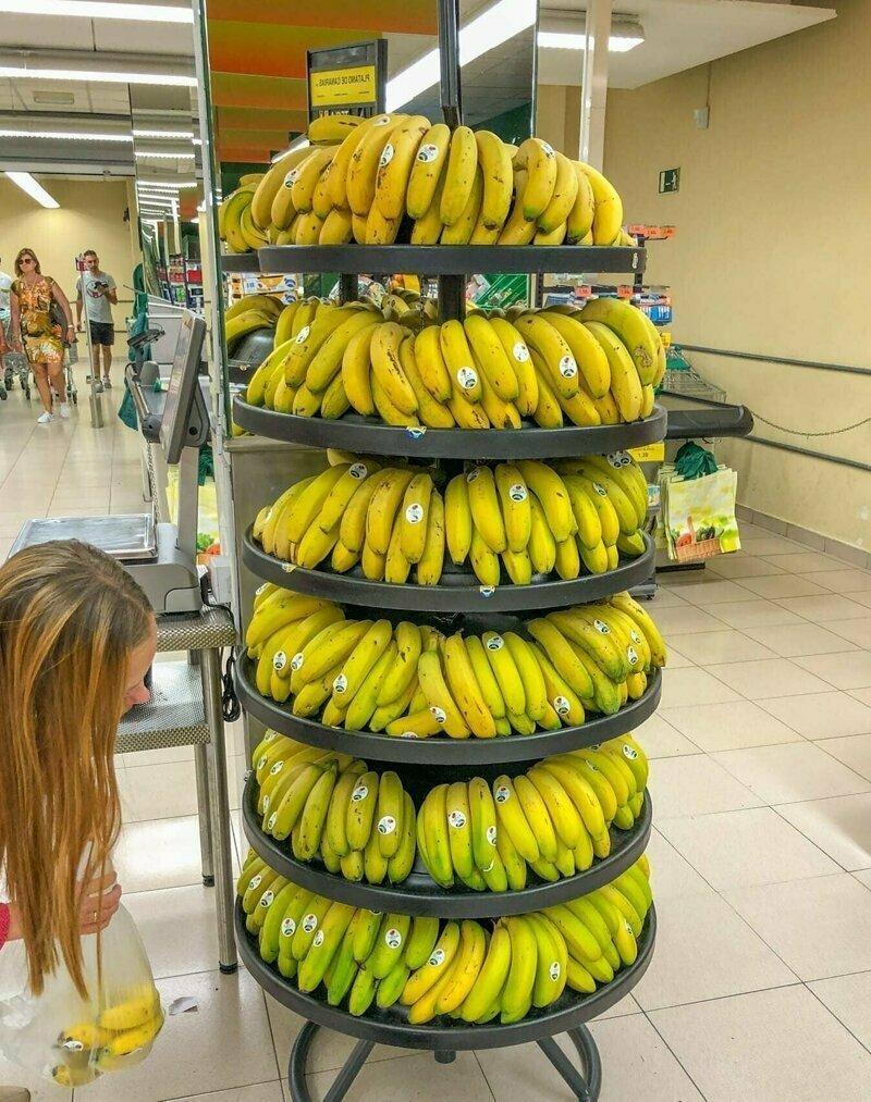 652 кг бананов