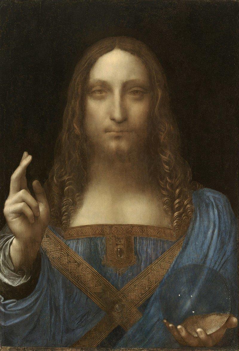 Самое ценное из когда-либо проданных произведений искусства -  картина Леонардо да Винчи «Спаситель мира», которую купил Департамент по культуре и туризму эмирата Абу-Даби - 450 300 000 долларов