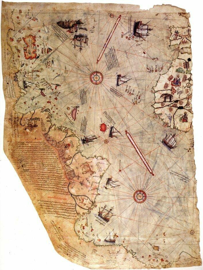19. Карта Пири-Реиса