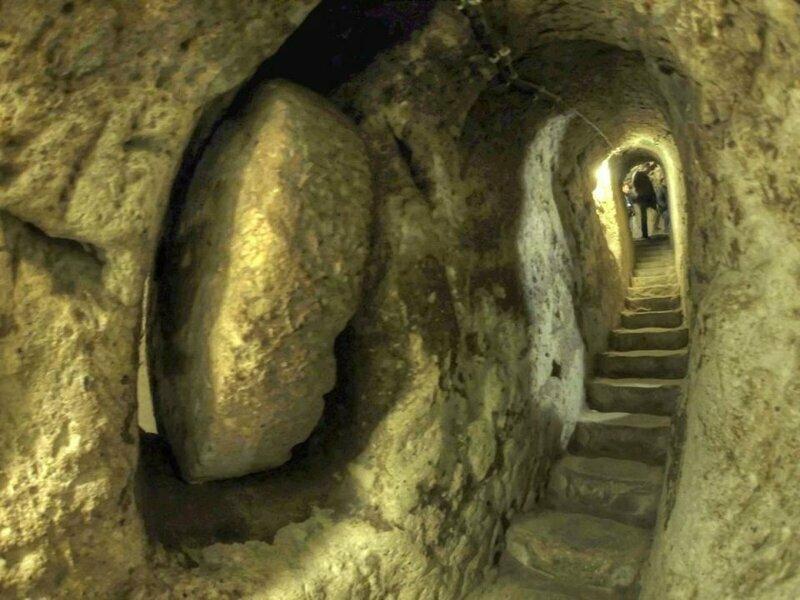 25. Подземный город Деринкую