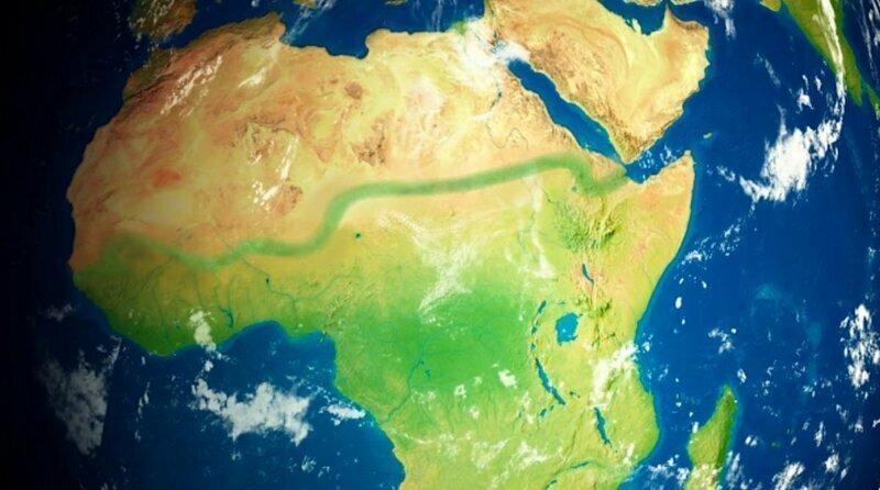 По плану Великая зеленая стена будет иметь протяженность 8 000 км и площадь 100 млн гектаров