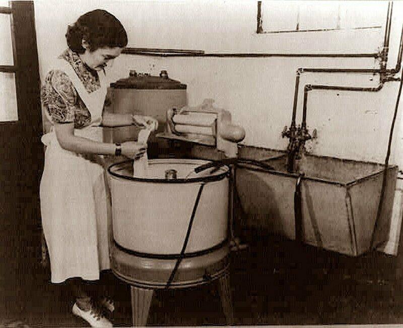 Стиральная машина: от идеи до современности