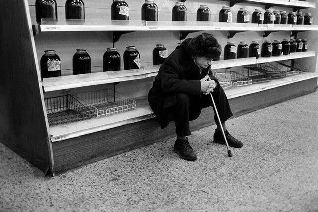 11. Магазин в Москве, 1991