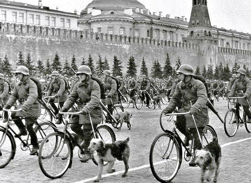 8. Военный парад в Москве, 1938 год