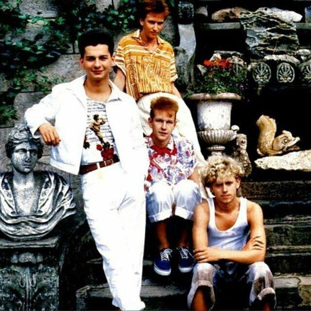 5. Узнали? Еще молодые Depeche Mode