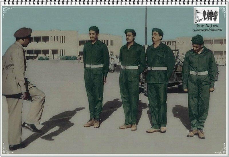 Принцы Фахд, Абдалла и Салман (будущие Короли Саудовской Аравии) в качестве добровольцев в египетской армии во время отражения совместной агрессии Великобритании, Франции и Израиля против Египта в 1956.