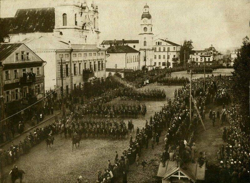 Парад войск Речи Посполитой, 1919 год, Минск