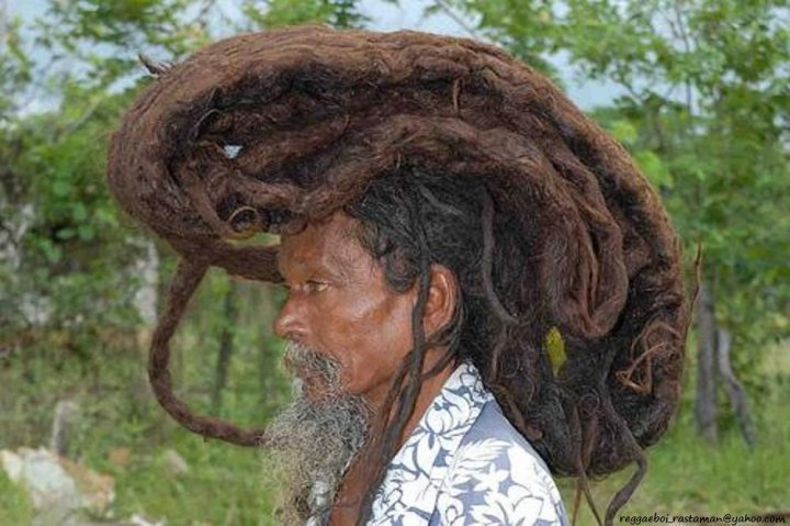 Домик на голове