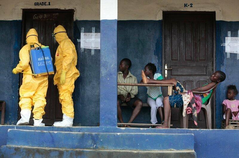 Эболы-шмэболы... Мешают тут отдыхать