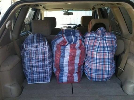 Это три сумки