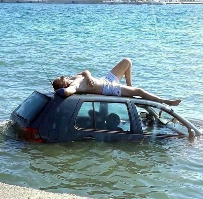 Что делать, если твоя машина тонет