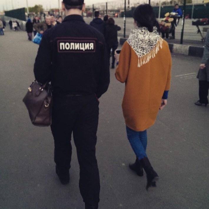 В полиции работают вежливые мужчины