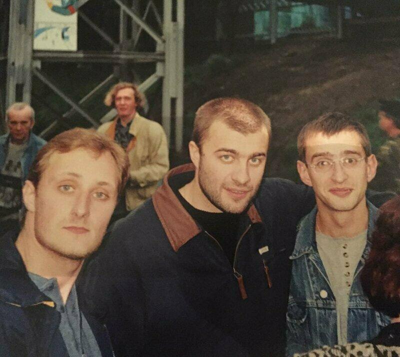 Андрей Зибров, Михаил Пореченков и Константин Хабенский