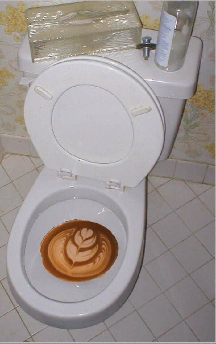Утро не всегда начинается с кофе