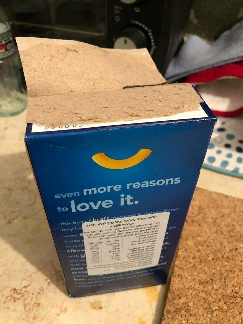 Открыть нормально упаковку? Да раз плюнуть!