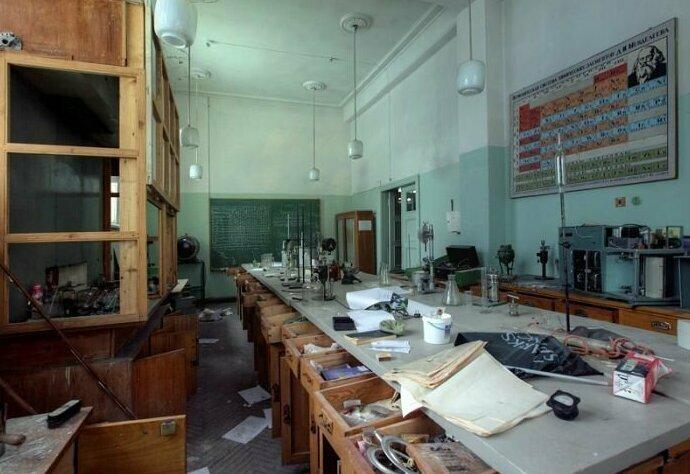 Покинутый научно-испытательный комплекс