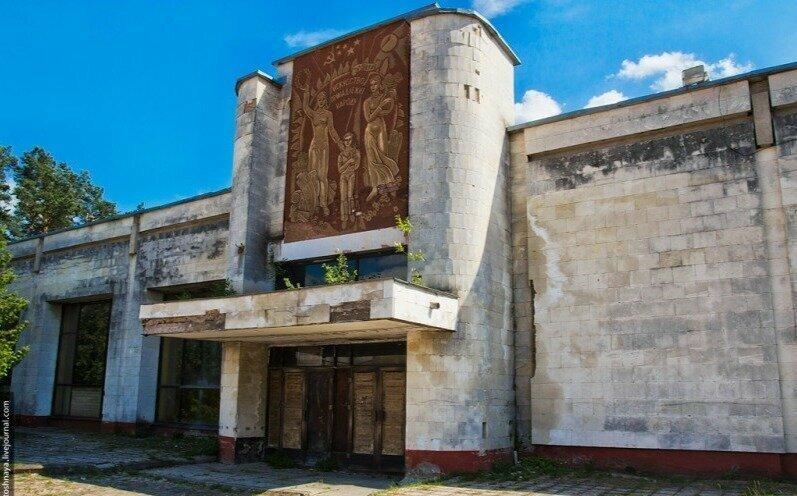 Дом культуры в одном из сел Тверской области