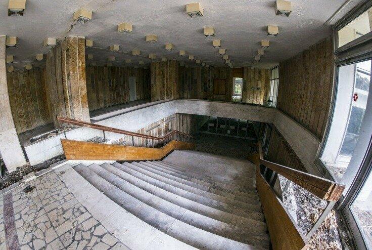 Заброшенный санаторий в Краснодарском крае