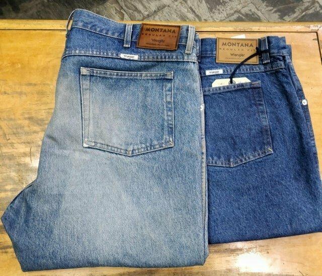 1. Старые и новые джинсы