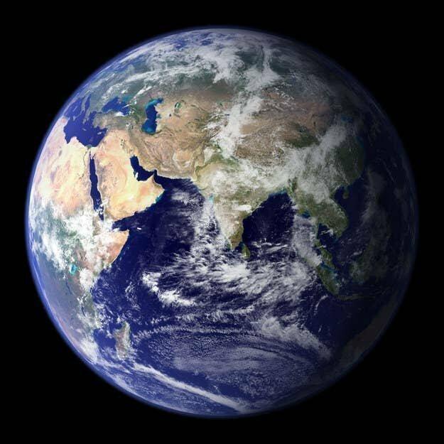 Это планета Земля, на которой мы живем