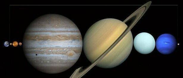 А между тем, между Землей и Луной могут уместиться все планеты Солнечной системы