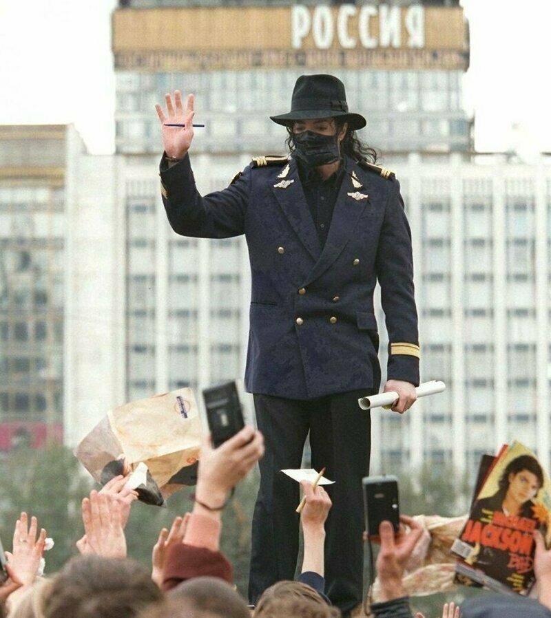 Визит Майкла Джексона