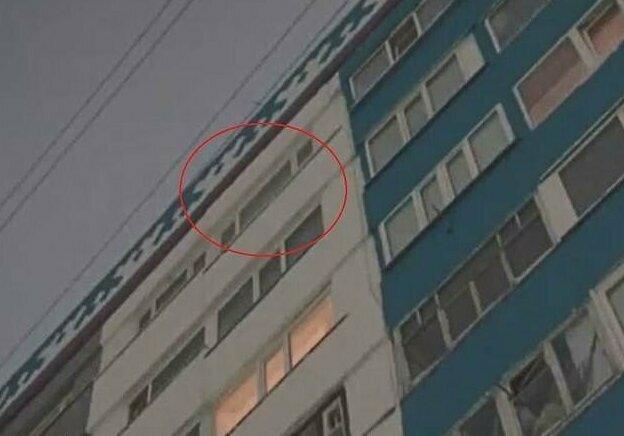 Кошка сбросила девочку с девятого этажа многоэтажки