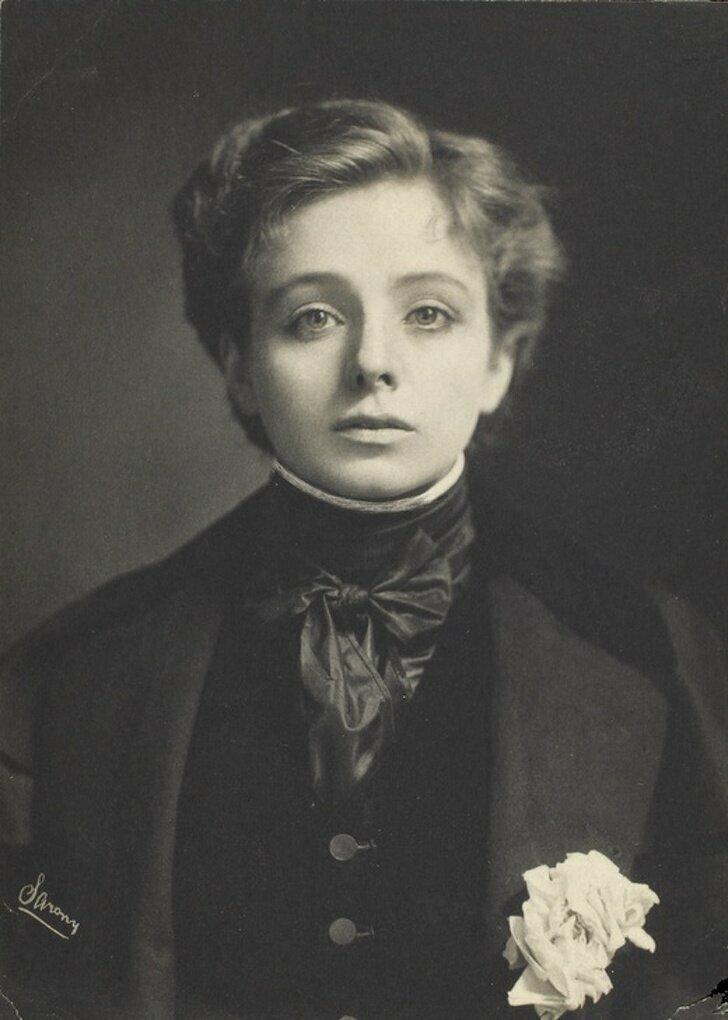 Актриса театра Мод Адамс, 1890