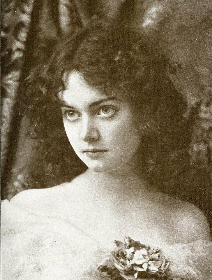Актриса Минни Эшли, 1896