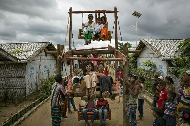 13. Рохинджа на празднике Курбан-байрам
