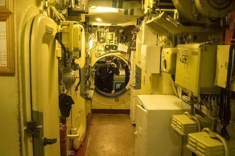 Как живется нашим морякам на субмаринах
