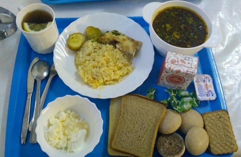 Тридиционная еда на подводной лодке