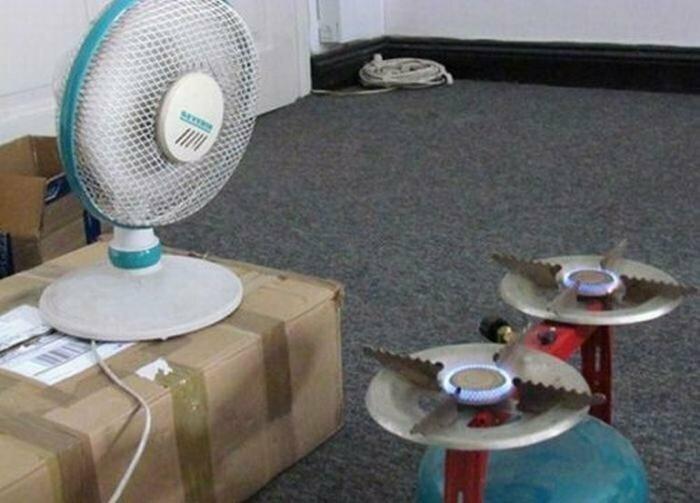 Может, отопление отключили?