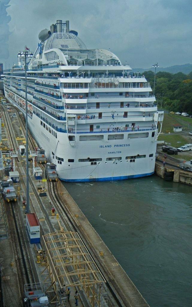 Обыденность. Панамский канал