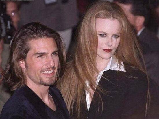 Николь Кидман и Том Круз во времена их брака (с 1990 до 2001)
