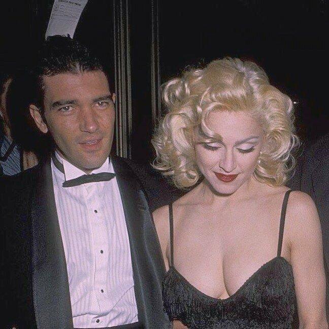 Антонио Бандерас и Мадонна