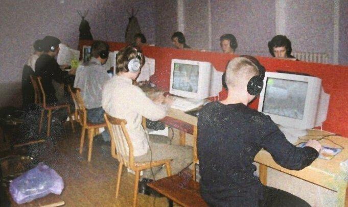 Были большие городские турниры среди геймеров