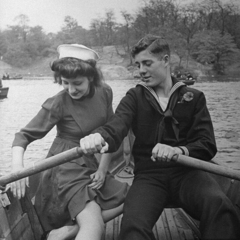 Центральный парк, Нью-Йорк, 1943 год