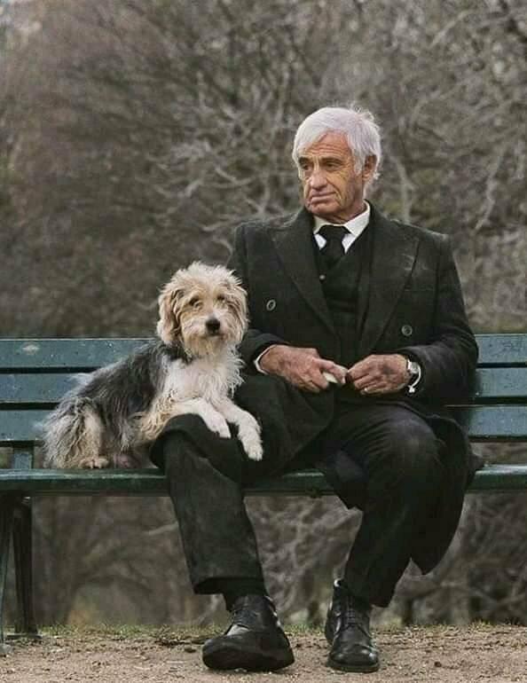 Старина Жан Поль и собака