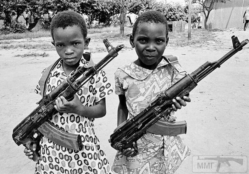 Девочки-ополченки, Родезия-Замбия, 1978 год.