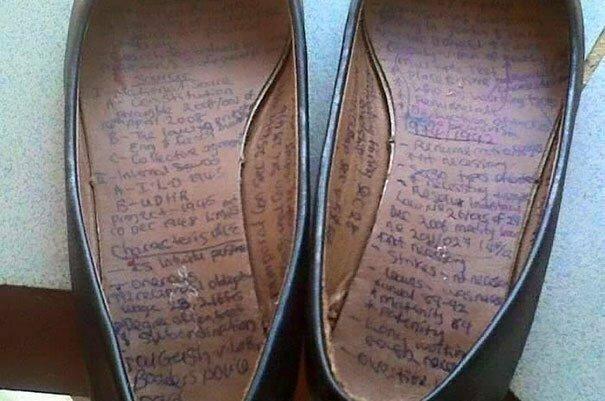 Обувь - тоже классный вариант